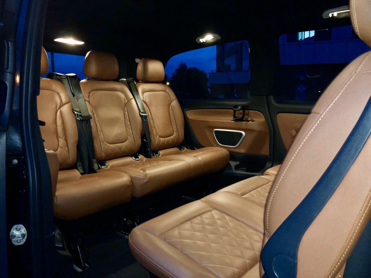 Пассажирский Mercedes Benz Vclass на прокат в Минске по выгодной цене